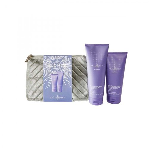 Neal & Wolfe Blonde Purple Shampoo and Conditioner Gift Set